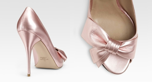Pointed Metal Toe Shoes